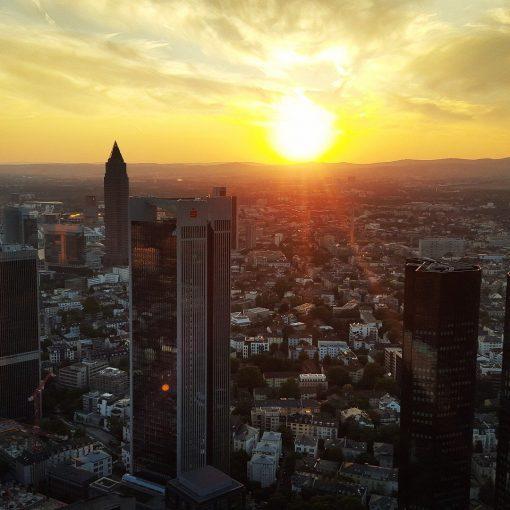 Frankfurt-Skyline-Sunset